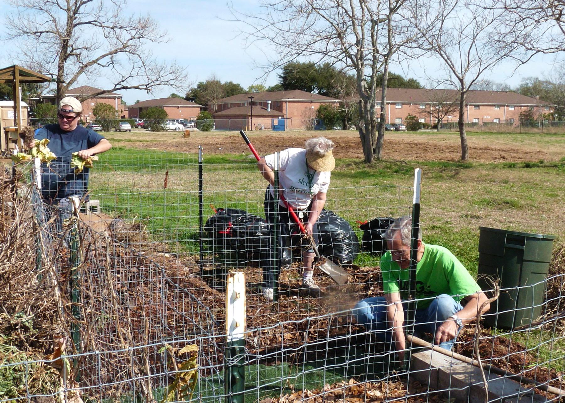 Garden Waste Compost Area